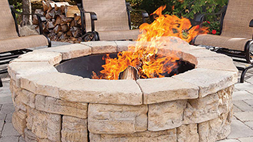 Outdoor living Firepit northern virginia