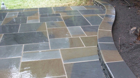 Cut Flagstone and Patio Walkways Fairfax Virginia