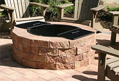 Outdoor Firepits and Patios