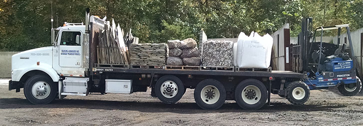 Stone, Sand, Gravel, Soil, Mulch Delivery Northern Virginia