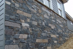 "Bedface Ledgestone with Uniform Rise, 2"", 4"" and 6"" Rise,  Random Length, Sawed top and bottom, Untrimmed ends"