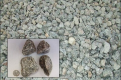 """(#3 Bluestone ) 2"""" to 3"""" Crushed Bluestone commonly used in construction entrances and drainage applications."""