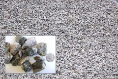 "(#5 Bluestone) 1"" to 1½"" Crushed Bluestone for driveways and drainage.  All  Purpose Gravel"