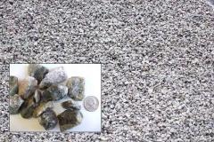 "(#5 Bluestone) 1"" to 1½"" Crushed Bluestone for driveways and drainage.  All  Purpose Gravel"