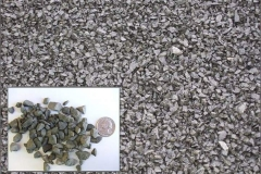 "(#8 Bluestone) 3/8"" to ½"" Crushed Bluestone used under driveways and walkways."