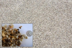 "(Pea Gravel ""MD"") ¼"" to 3/8"" Chesapeake Washed Gravel popular decorative stone."