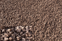 Red Canyon Decorative Gravel (14 to 3/8 inch ) Great for steep slopes to replace mulch