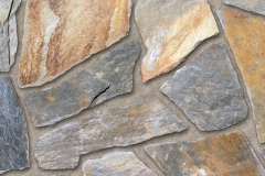 Used for patios, stepping stones & walkways. A Blend of oranges and rusts with silver highlights.