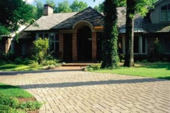 Driveway Featuring Belgard's Cambridge Collection Pavers